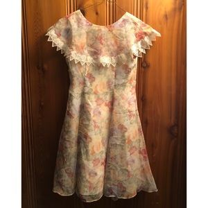 Jessica McClintock for Girls Vintage Inspired Sz 8
